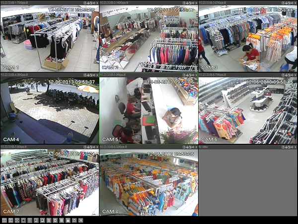 Giải pháp lắp đặt camera cho cửa hàng, shop quần áo