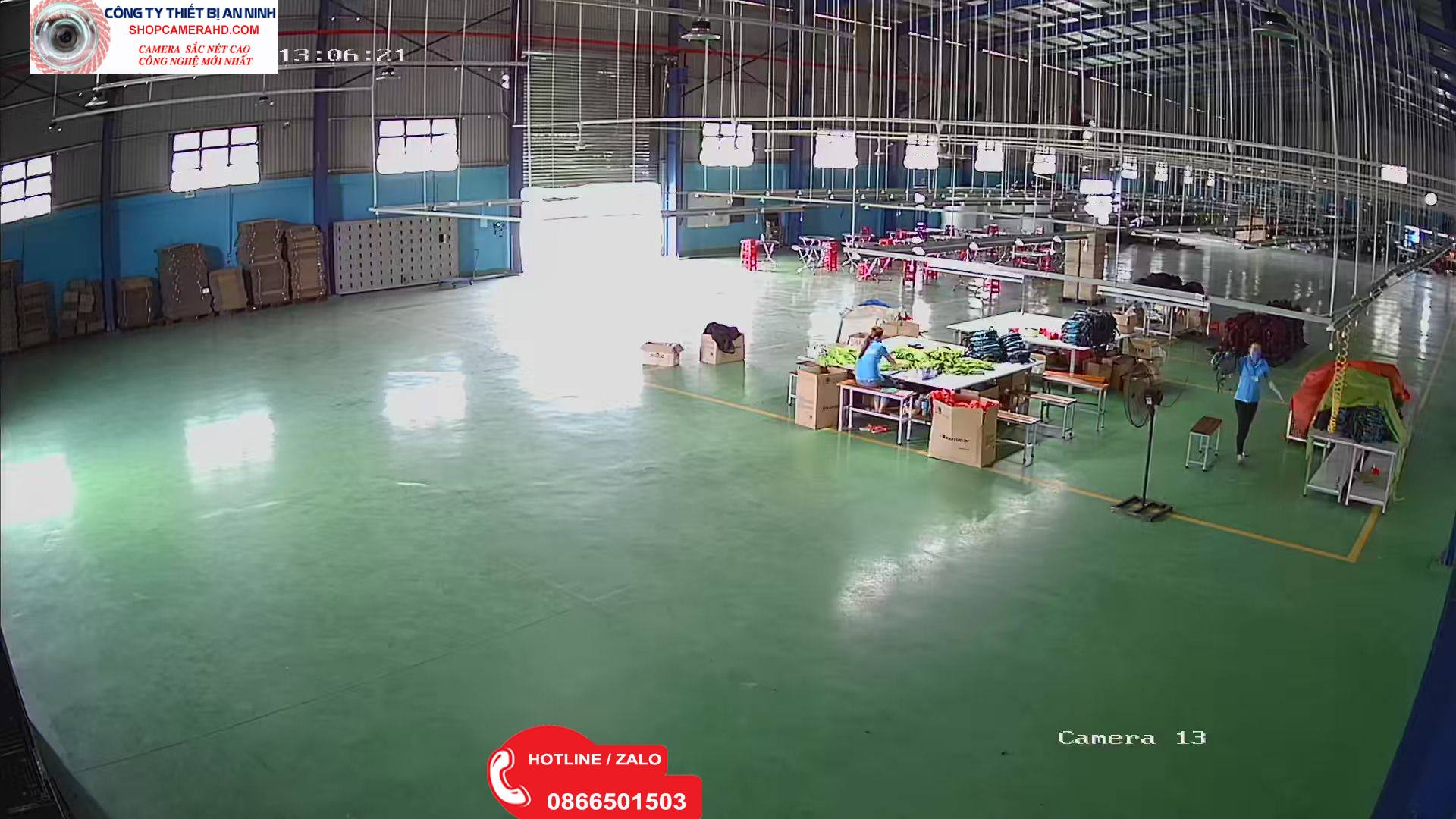 camera công ty xưởng