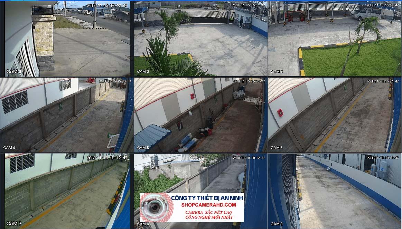 camera giám sát nhà xưởng sắt nét