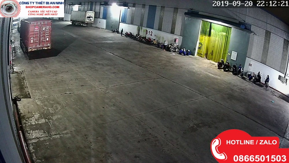 camera giám sát nhà xe