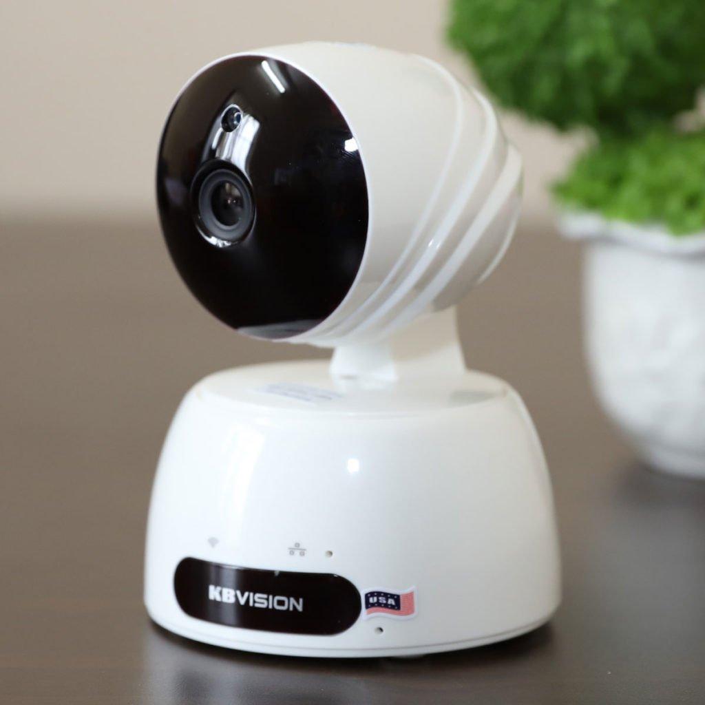 Camera KBWin KW-H2 Wifi không dây HD 720P, hồng ngoại 10m, âm thanh 2 chiều, MicroSD, Onvif, Cloud