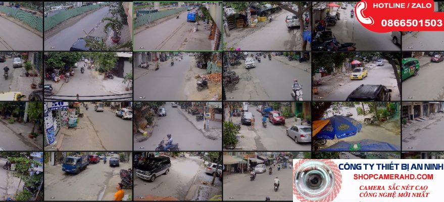 Giải pháp Camera cho khu các dân cư ,đường phố