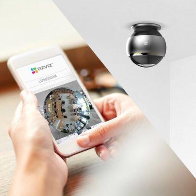 CAMERA IP WIFI TOÀN CẢNH; camera toàn cảnh; camera toan canh; camera 360 độ; camera góc rộng;