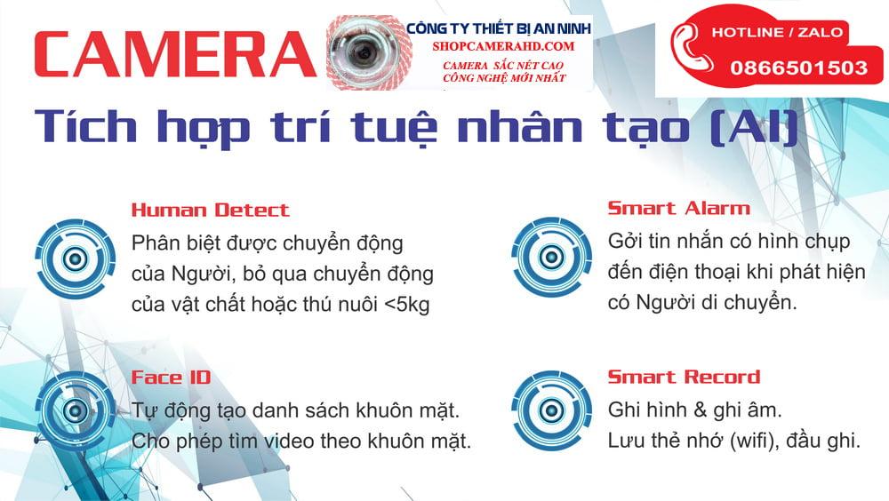 camera wifi báo trộm