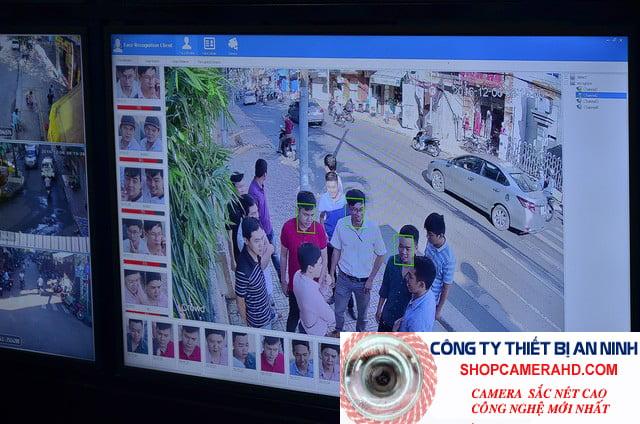 camera nhận diện khuôn mặt cảnh báo trộm djvision;