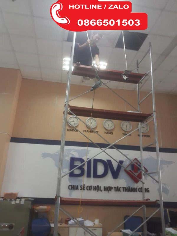 lắp đặt camera ngân hàng bidv camera an ninh chính hãng giá rẻ;